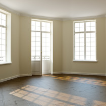 Mietwohnung Fensterfront